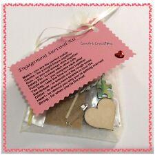 Engagement Survival Kit - Fun Novelty Keepsake gift