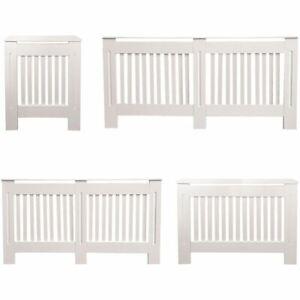 Chelsea Radiator Cover Modern White Cabinet MDF Slats Wood Grill Furniture