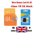 64GB Ultra Micro SD SDHC Ultra Memory TF SD Card SDHC UHS-1 w/ADAPTER Class 10