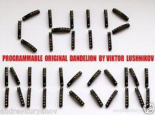 Nikon dandelion chip original + installing on your Nikkor MF lens.