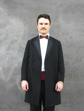 Herren Fliege weinrot gepunktet Microfiber 80er True Vintage 80s bow tie