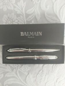 Designer Balmain Pens With Engraving In Box