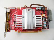 CARTE PC VIDEO GRAPHIQUE DVI S-VIDEO MSI NX8600GT-T2D256EZ 602-V102-02S PCI 16x