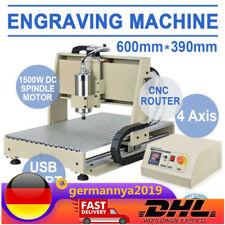 CNC 6040 4 Achse Graviermaschine Router Portalfräsmaschine Graviergerä Engraver