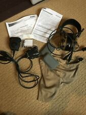 3M Peltor Comtac III Dual Comm Headset 88079 Coyote Brown With 2 PTT Mic New