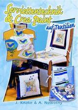Serviettentechnik & Crea-Paint auf Textilien ** Bücherzauber Verlag