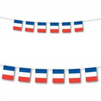 France Bunting Flag 3M 10 Flags,France Rugby Flag for those special events