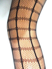 NEW WOMENS LADIES CROCHET FISHNET TIGHTS PANTYHOSE FANCY PARTY ONE SIZE 8 TO 14