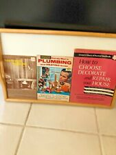 LOT OF 3  REPAIR BOOKS PANELING, PLUMBING &HEATING , CHOOSE DECORATE & REPAIR.