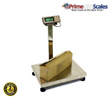 Bench Scale 1000 Lb X 02 Lb Prime Usa L 500bs Large Stainless Steel Bench