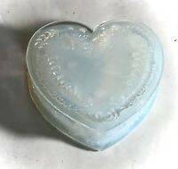 "Degenhart April Day Opalescent 3 1/2"" Heart Shaped Dresser Dish"