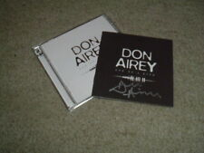 DON AIREY - ONE OF A KIND - HAND SIGNED - 2CD ALBUM - NEW - DEEP PURPLE RAINBOW