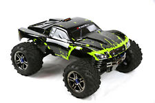 Custom Body Muddy Green for Traxxas T / E Maxx Shell Cover 3911R E-Maxx