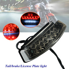 12V 5W 21 LED Motorcycle Rear Tail Brake Light Running License Number Plate Lamp
