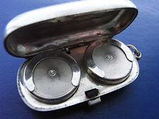 Silver Double Sovereign case, 1913