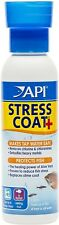 API Stress Coat Water Conditioner Instantly neutralizes Chlorine Chloramine 4oz