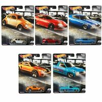 2019 Hot Wheels Cruise Boulevard Set of 5 Cars Car Culture 1/64 Diecast Cars