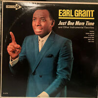 """EARL GRANT - Just One More Time <White Label Promo>- 12"""" Vinyl Record LP - EX"""