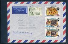 Lesotho, Brief aus Maseru nach Ibbenbüren, Deutschland  (H1)
