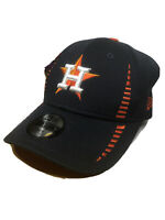 Houston Astros New Era Baseball Hat Cap 9FORTY Adjustable Embroidered - Navy EUC