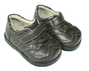See Kai Run Bennet Brown Wing Tip Shoes Sneakers Baby Boy Infant Size 3