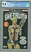 Tremendous Trump She-Trump #1 CGC 9.8 Onyx Edition Variant She-Hulk #1 Homage