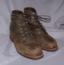 LL Bean Chippewa Cap Toe Boots SIZE 10.5D NWOB Goodyear welt