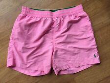 """POLO RALPH LAUREN PINK HAWAIIAN Swim Pantaloni corti taglia L 32"""" -34"""" NUOVO con etichetta al dettaglio £ 60"""