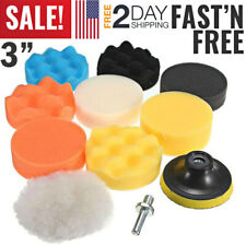 Car Sponge Buffing Pads Polishing Waxing Kit Power Polisher Buffer Buffing Pad