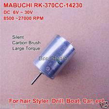 Mabuchi RK-370CC-14230 DC 12V 24V 6V-30V 20700RPM High Speed Elektromotoren