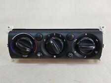 MINI ONE R50 R52 MK1 04-08 HEATER CLIMATE CONTROL UNIT SWITCHES DIALS 69432201