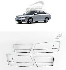 SAFE Chrome Rear Lamp Molding 4Pcs For Hyundai NF Sonata 2005 2010