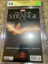 Doctor Strange prelude 1 cgc ss 9.8 signed by the Doctor himself B. Cumberbatch!