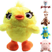 Toy Story 4 Forky Ducky And Bunny Soft Stuffed Plush Doll Kids Boys Girls Gifts