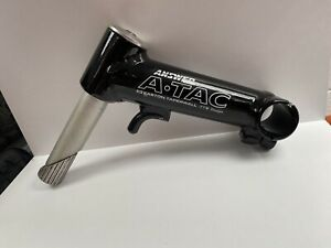 """Answer ATac Retro Stem Black 1"""" quill with Cable Guide 120mm MTB FTW"""