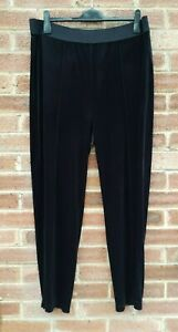 Bonmarché Women's Brown/Red Loose High Rise Wide Leg Eve Trouser Pants Size 20