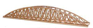 BR016 Single Track Long Bowstring Rail Bridge OO Gauge Model Laser Cut Kit