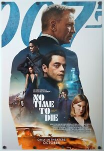 No Time To Die - original DS movie poster 27x40 INTL FINAL - James Bond 007
