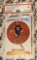 2019 Panini Hoops Kobe Bryant (Holo) Legends of the Ball psa 9 MINT