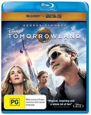 George Clooney Tomorrowland DVDs & Blu-ray Discs