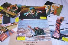 CREEPSHOW 2 ! stephen king jeu 12 photos cinema lobby cards fantastique horreur