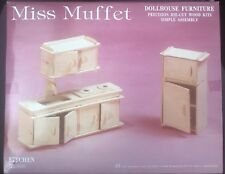 Miss Muffet Dollhouse Furniture Set Kitchen Room No.826