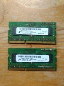 PC3-10600 (DDR3-1333), DDR3 SDRAM, 1333 MHz, SO DIMM 2 4Gb