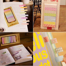 Cute 160 Pages Sticker Post It Sticky Notes Bookmark Marker Memo Flags Index Tab