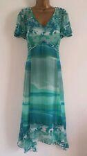Per Una Chiffon V-Neck Midi Dresses for Women