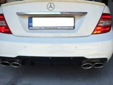 Paraurti posteriore Tuning Mercedes Classe C W204 07-14 Facelift C63 AMG look