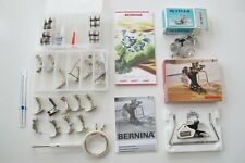 Bernina Record 930 LOT OF 15 feet ruffler walking foot w seam guide