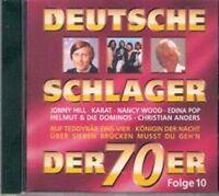 Deutsche Schlager der 70er 10-1979 Nina & Mike, Karat, Bernd Clüver & Mar.. [CD]