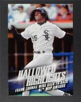 2016 Topps Hallowed Highlights #HH4 Frank Thomas - NM-MT
