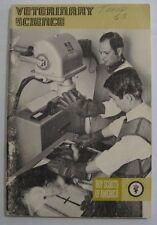 Vtg 1978 Veterinary Science Merit Badge Series Pamphlet BSA Boy Scouts America